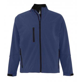 Куртка мужская на молнии relax 340 темно-синяя