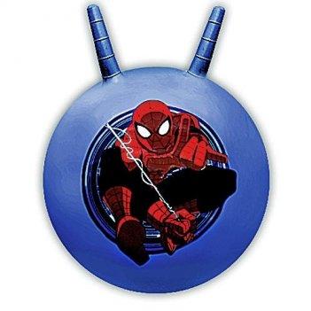 Мяч-прыгун с рожками disney человек паук sj-18(sm)/172624