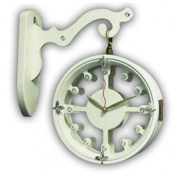 Настенные часы на подвесе b&s sa3305mw