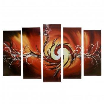 Модульная картина на подрамнике пламя