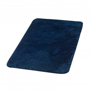 Коврик для ванной комнаты istanbul, цвет синий/голубой 60х90 см