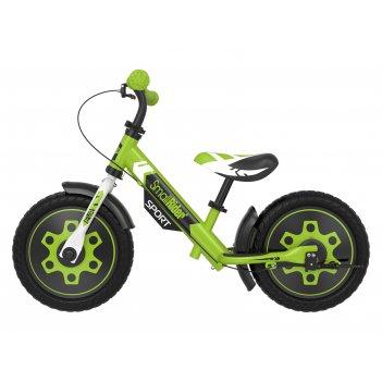 Беговел с 2 тормозами small rider roadster sport 4 eva (зеленый)