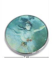 Pr-m14de зеркальце звезда балета эдгар дега (museum.parastone)