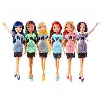 Кукла winx club мода и магия-3, микс