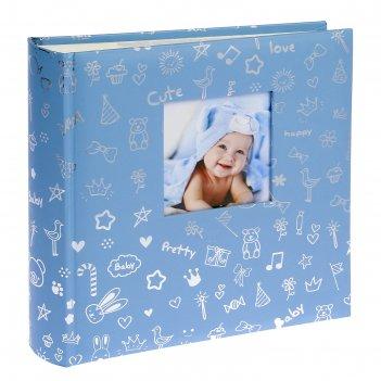 Фотоальбом на 200 фото 10х15 см pioneer lovely baby книжный переплет