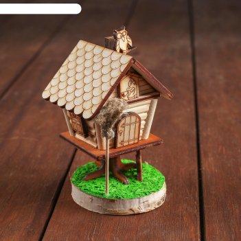 Деревенька.дом бабы-яги маленький арт.7706