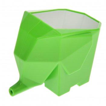 Подставка для зубных щеток слоник 15х10х12 см, цвет микс