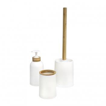 Набор для ванной комнаты zen белый
