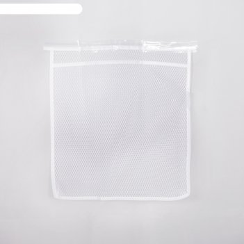 Штора для ванной с кармашками 170x180 см лана