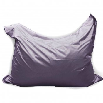Кресло-мешок мат макси, ткань нейлон, цвет серый