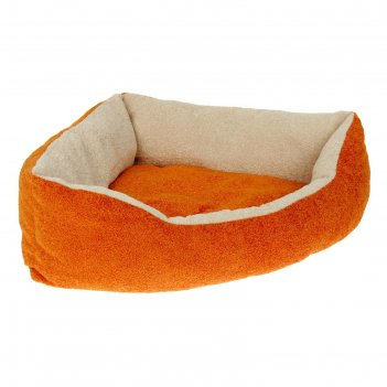 Лежанка угловая, 56,5 х 42 х 15 см, мебельная ткань