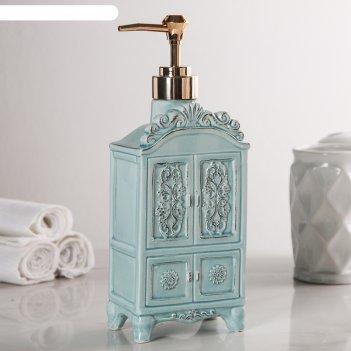 Дозатор для жидкого мыла будуар, цвет микс