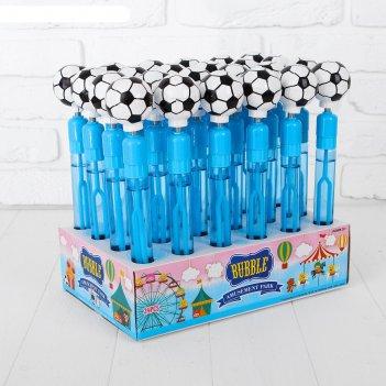 Мыльные пузыри - шумелка футбол, 60 мл