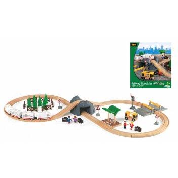 33164, набор железной дороги brio с пассажирским экспрессом на батарейках
