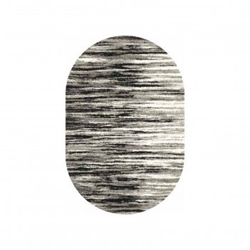 Ковёр фризе пп platinum_t623, 2*3, овал, gray mр
