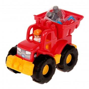 Конструктор грузовик - трансформер dpp73