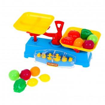 Игровой набор весы + набор продуктов (12 элементов) 53787