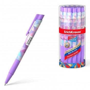 Ручка шариковая автоматическая erichkrause colortouch magic rhombs, узел 0