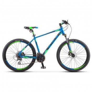 Велосипед 26 stels navigator-650 d 26 v010, цвет синий, размер 20
