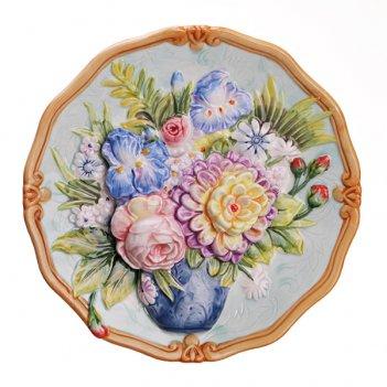 Тарелка настенная декоративная диаметр=20 см (кор=24шт.)