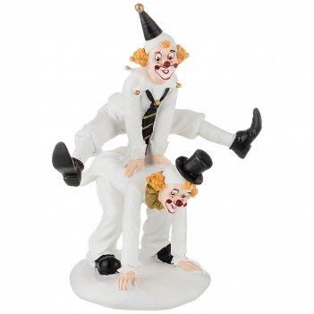 Фигурка клоун 18,5*14*22,5 см. коллекция буффонада