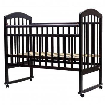 Кроватка детская «лира-2», качалка, размер 120 х 60 см, венге