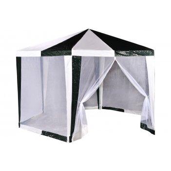 1001 green glade садовый шатер (шестигранник) 2х2х2 м