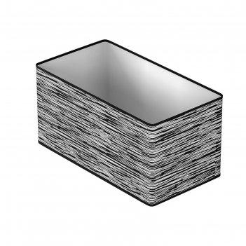 Коробка для вещей в прихожую, гардеробную liverpool, 25х15х14 см