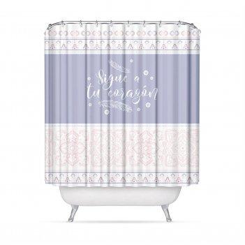 Штора для ванной комнаты ethnic