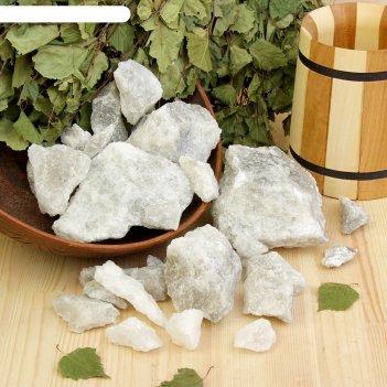 Персидская белоснежная соль добропаровъ, колотая, 50-120мм, 2 кг