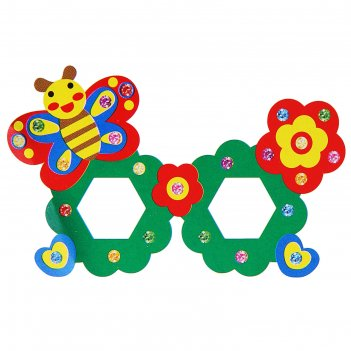 Набор для творчества создай очки - бабочка