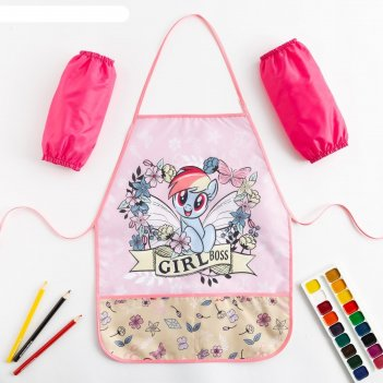 Набор детский для творчества fairy forest, my little pony (фартук 49х39 см