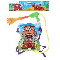 Пистолет водный щенок, ранец-балон, с эксклюзивными наклейками