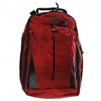 Рюкзак молодёжный luris спринт 3 42x29x16 см эргономичная спинка, бордо