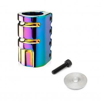 Хомут fox  x01 scs 31.8mm, 4 bolt rainbow