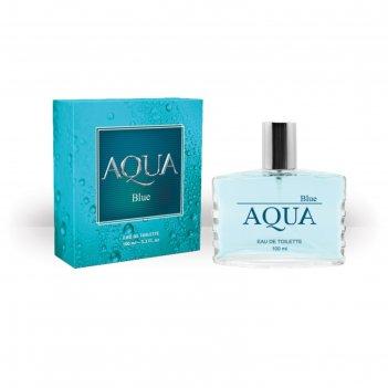 Туалетная вода мужская aqua blue, 100 мл