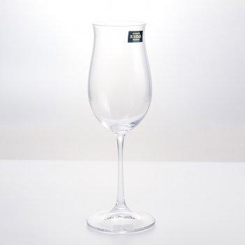 Набор бокалов для вина crystalite bohemia ellen 260 мл(6 шт)