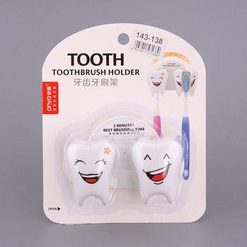 Подставка для зубных щеток зуб 10*7*6 см.