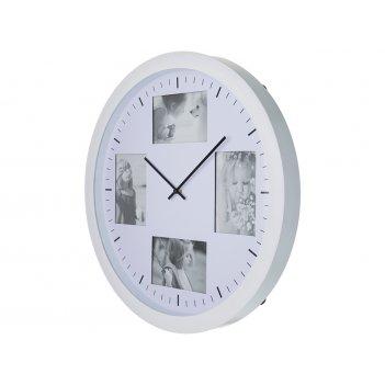 Часы настенные кварцевые live диаметр=51 см. цвет: белый циферблат диаметр