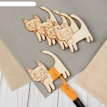 Шпульки для ниток мулине «кошка», 6,5 x 7,5 см, 5 шт