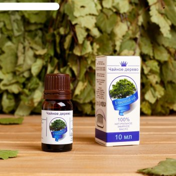 Эфирное масло чайное дерево, флакон-капельница, аннотация, 10 мл