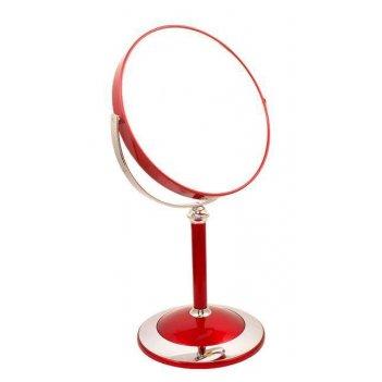 Зеркало b7 8011 ruby/c red наст. кругл. 2-стор. 5-кр.ув.18 с