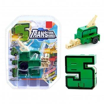 Робот-трансформер «робоцифра 5»