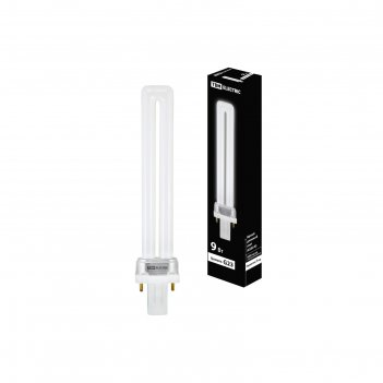 Лампа энергосберегающая tdm клл-ps-9, 9 вт, k-g23, 230 в, 6500 k
