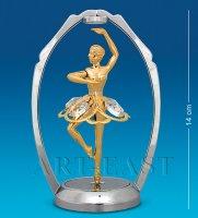 Ar-1287 фигурка танцующая балерина (юнион)