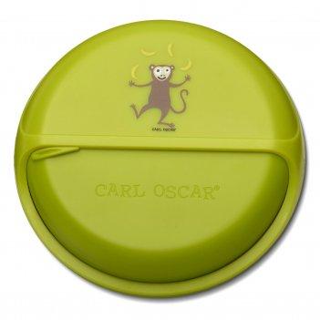 Ланч-бокс для перекусов snackdisc™ monkey лайм