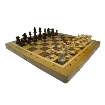 шахматы из дуба