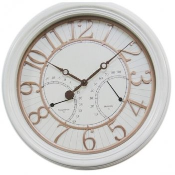 Композиция время с термометром и гигрометром, l 50.8 w 5.8 h...