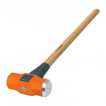 Кувалда truper md-6m, 2.7 кг, кованая, деревянная ручка с антишоковой защи