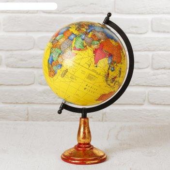 Сувенир глобус яркая мечта 22х22х35 см